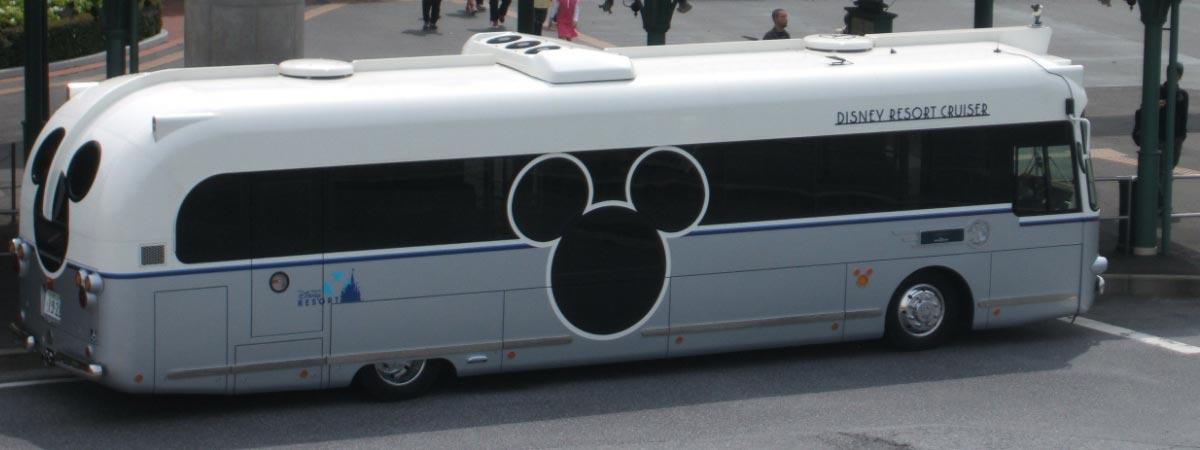 Автобус в Диснейленд