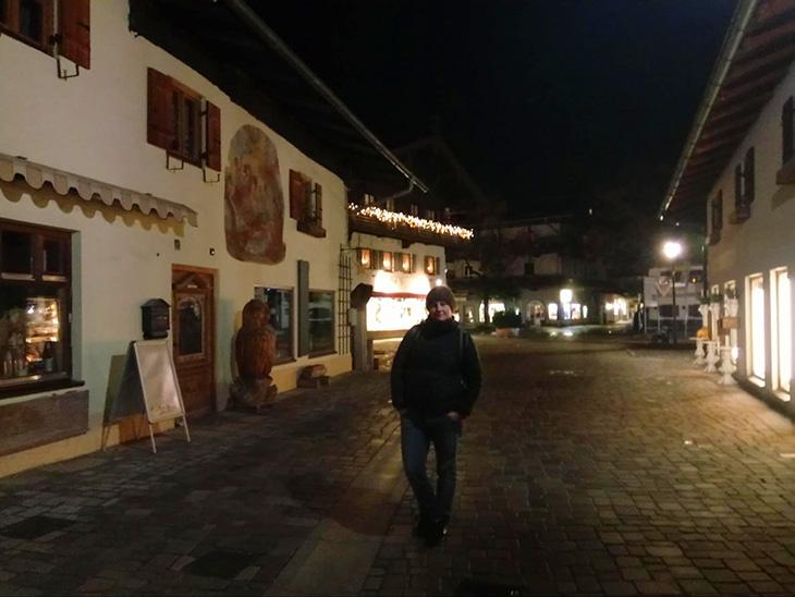 Вечірнє Обераммергау