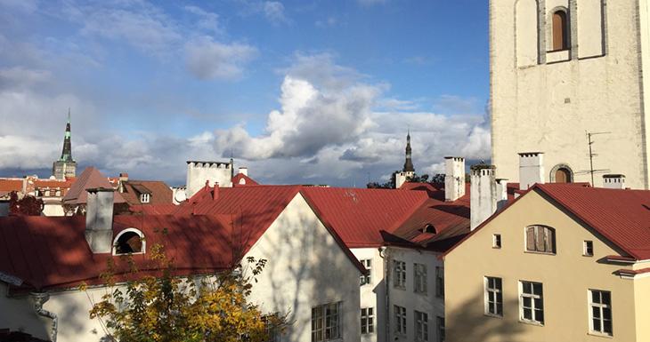 Вид на крыши