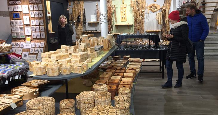 Магазин деревянных изделий