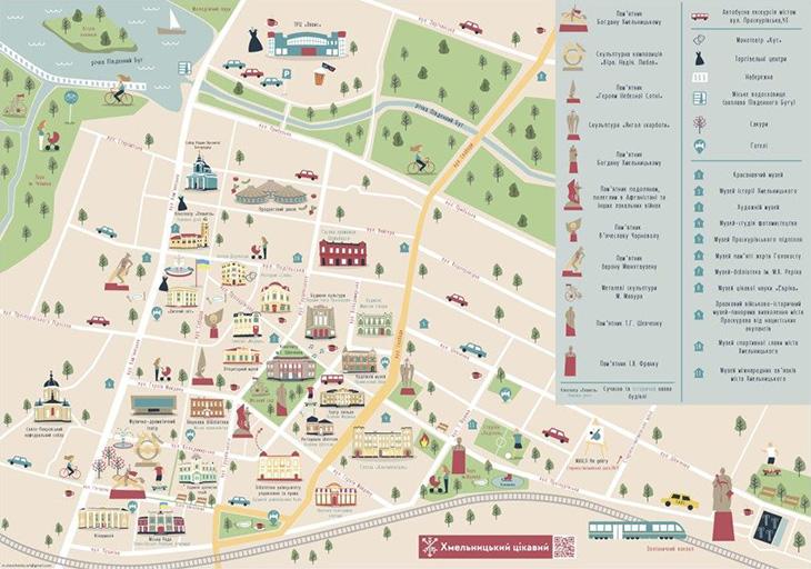 Туристична мапа міста