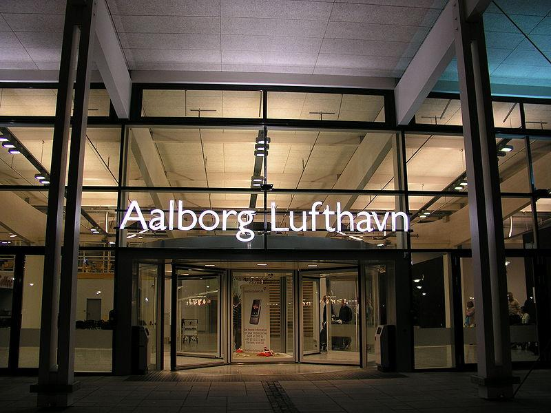 Aalborg airport entrance