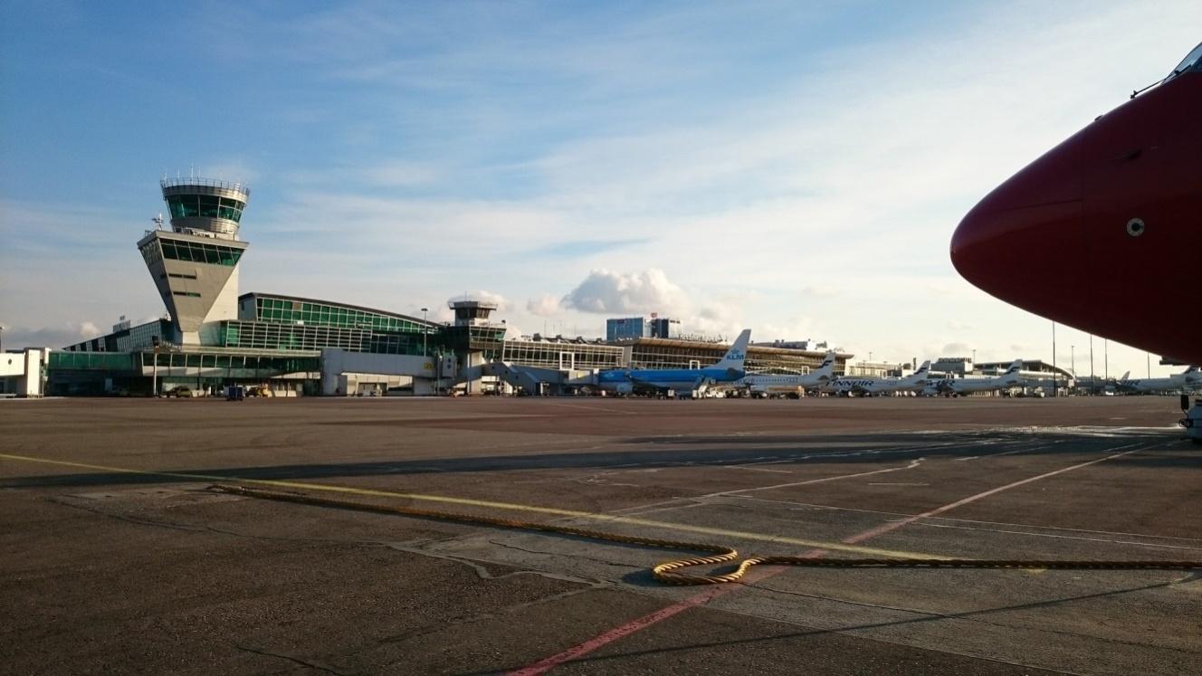 Terminal 2 at Helsinki Airport