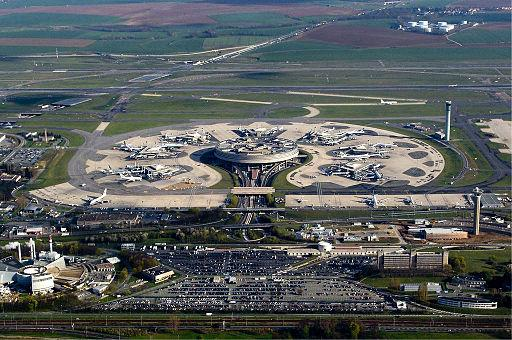 Charles De Gaulle Airport terminal 1