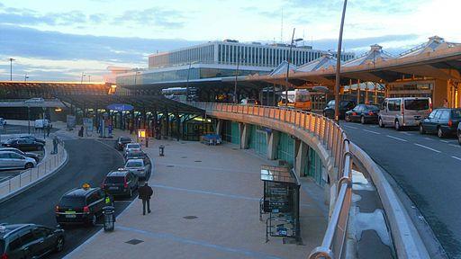 Lyon Airport terminal building