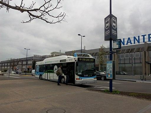 Navette bus Nantes Airport