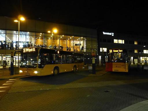 airport buses Copenhagen