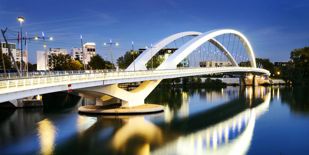 Bridge near Confluence in Lyon