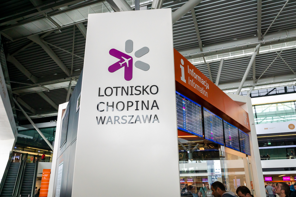 information warsaw chopin airport