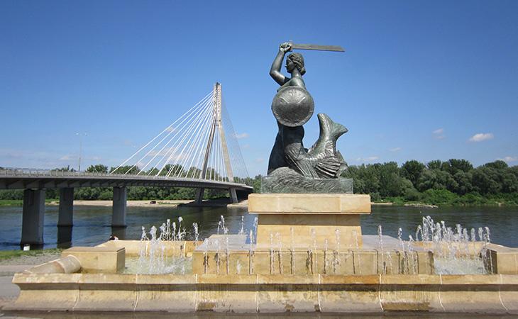 Варшава— пам'ятник Сирені