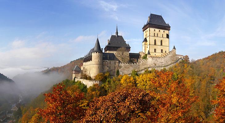 Замок в Праге