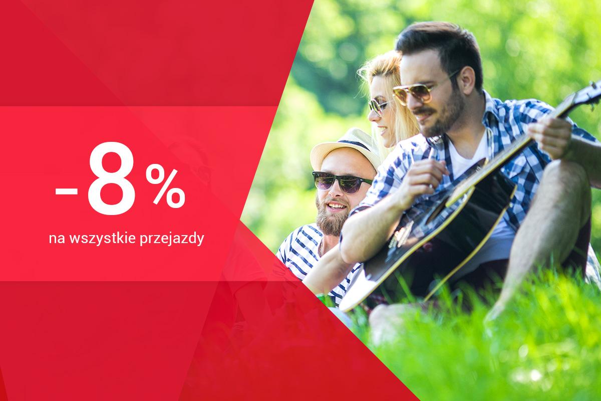 Zniżka 8%