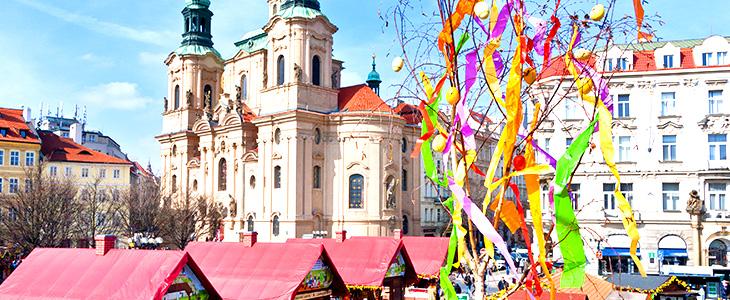 Wielkanocne jarmarki w Pradze