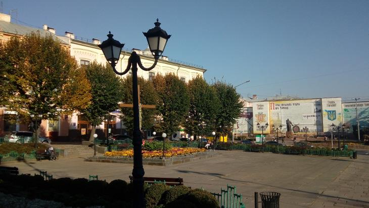 Площа біля ратуші
