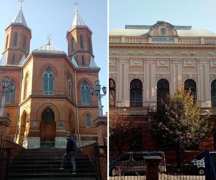 Вірменська церква та народний дім