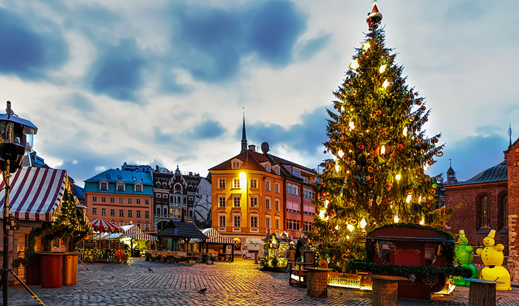 Латвия зимой