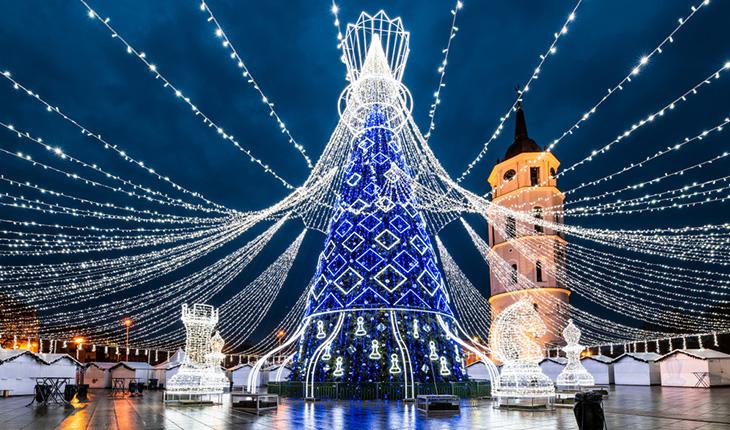 Литва зимой