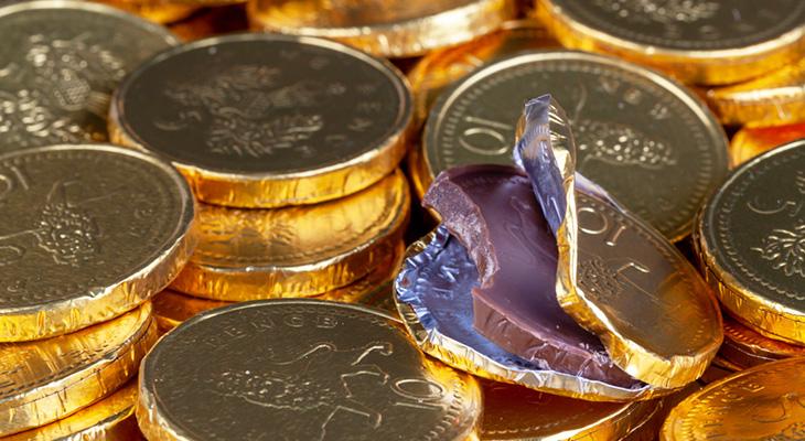 Czekoladowe monety