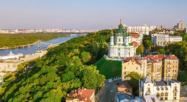 Jak dojechać z lotniska w Kijowie do centrum?
