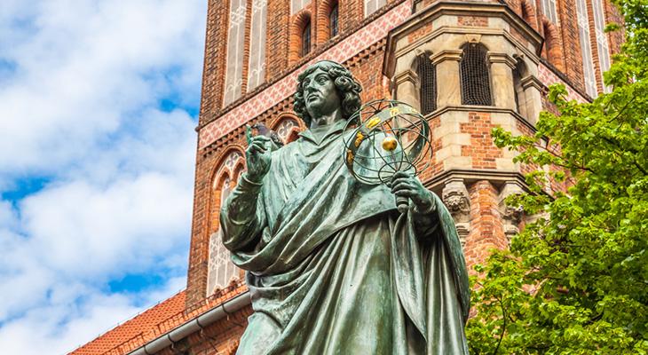 Wspólne zwiedzanie grodu Kopernika