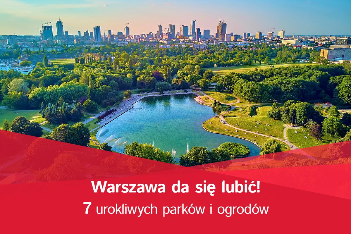 7 urokliwych parków i ogrodów
