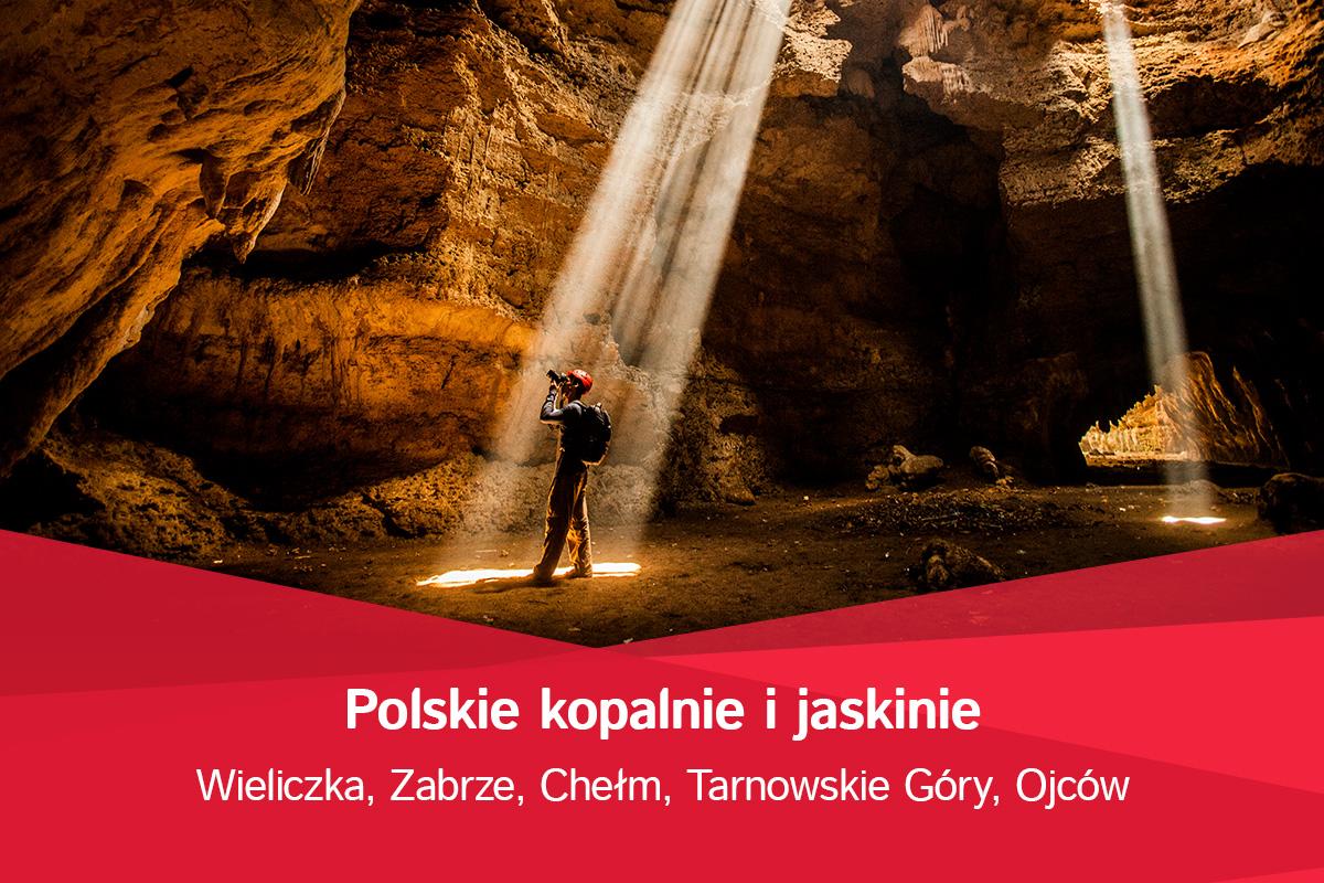 Niesamowite kopalnie i jaskinie w Polsce