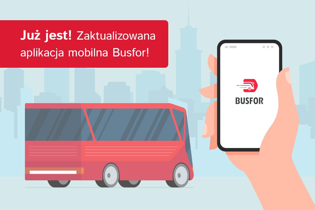 Aplikacja mobilna Busfor