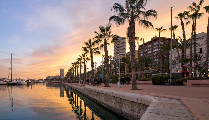 Alicante - stolica imprez