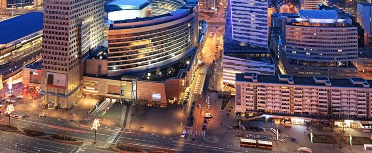 Торговые центры в Варшаве