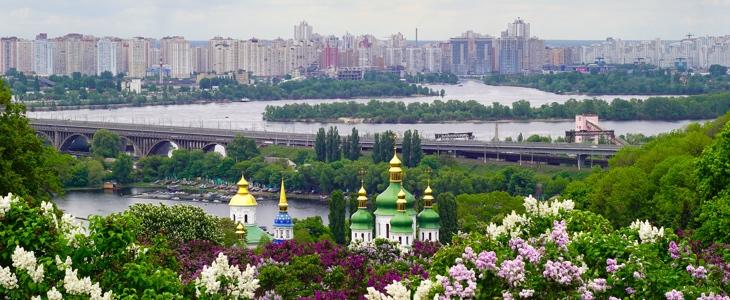 Киев весной