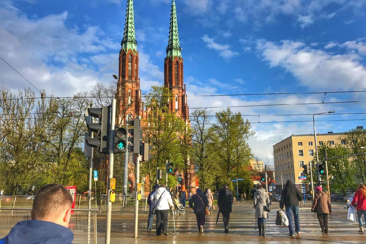 Базилика Святых Михаила и Флориана в Варшаве