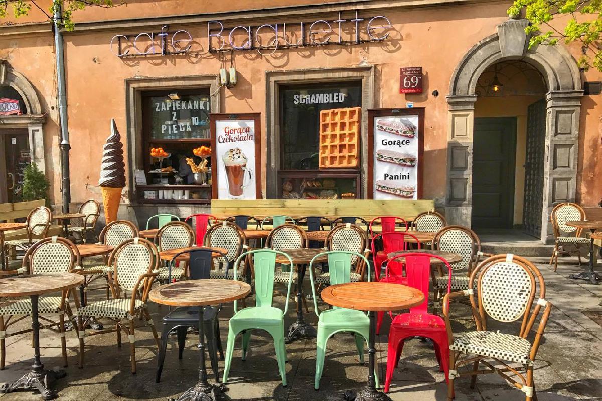 Кафе в Варшаве