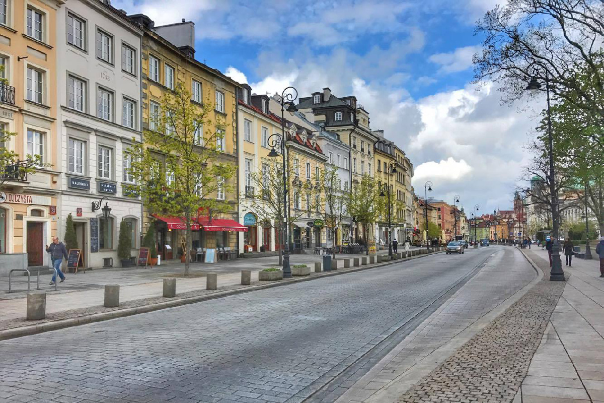 Улица в Варшаве