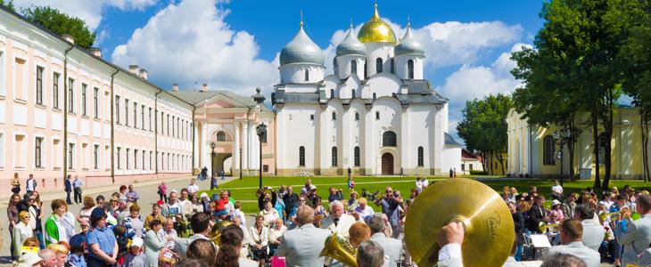 Празднование в Великом Новгороде